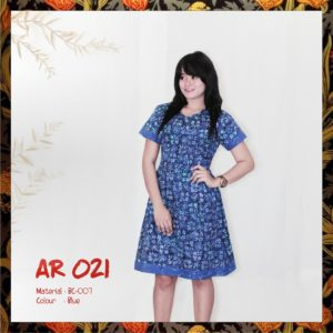Batik Sakura AR021 - Blue
