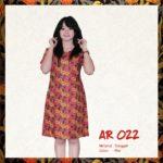 Batik Sakura AR022 Red
