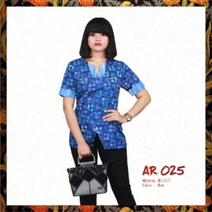 Batik Sakura AR025 - Blue
