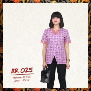 Batik Sakura AR025 - Purple