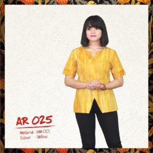 Batik Sakura AR025 - Yellow