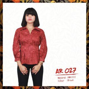 Batik Sakura AR027 - Brown