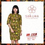 Batik Sakura AR028 - Cuiri Red
