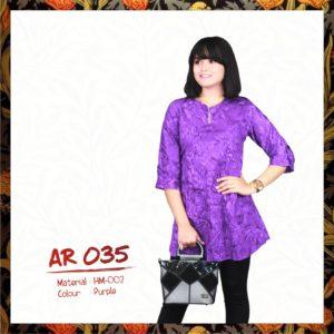 Batik Sakura AR035 - Purple