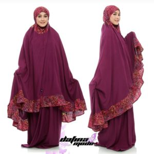 Mukena Dafina Mode COMBATBC001 - Red