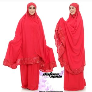 Mukena Dafina Mode COMBATBC002 - Red