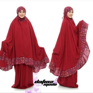 Mukena Dafina Mode COMBATBC004 - Red