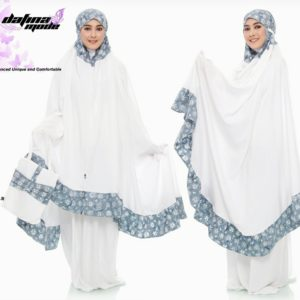 Mukena Dafina Mode COMBATBC004 - White