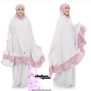 Mukena Dafina Mode COMBATBC008 - White