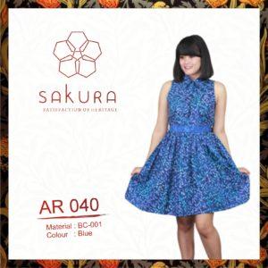 Batik Sakura Dress 040