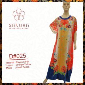 Maxi Dress D 025 Rubber Front